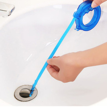 1Pc Adjustable Pipeline Dredge Cleaning Tool Sink Clogged Hair Cleaner Hook House Cleaner Pipe Sewer Cleaner Tools 8zca031-3