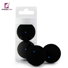 2pcs FANGCAN Professional Squash Ball One Blue Dot One Yellow Dot Two Yellow Dots Ball Mix Packing