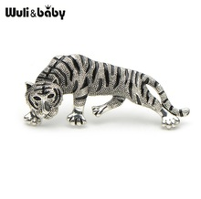 Tiger Brooches For Men And Women Animal Costumes Coat Suits Brooch Pins High Qulaity Brooch