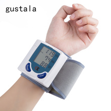 Hot Sales Measuring Blood Pressure Device Wrist Sphygmomanometer Digital Tonometer Automatic Blood Pressure Heart Rate Monitor(China)