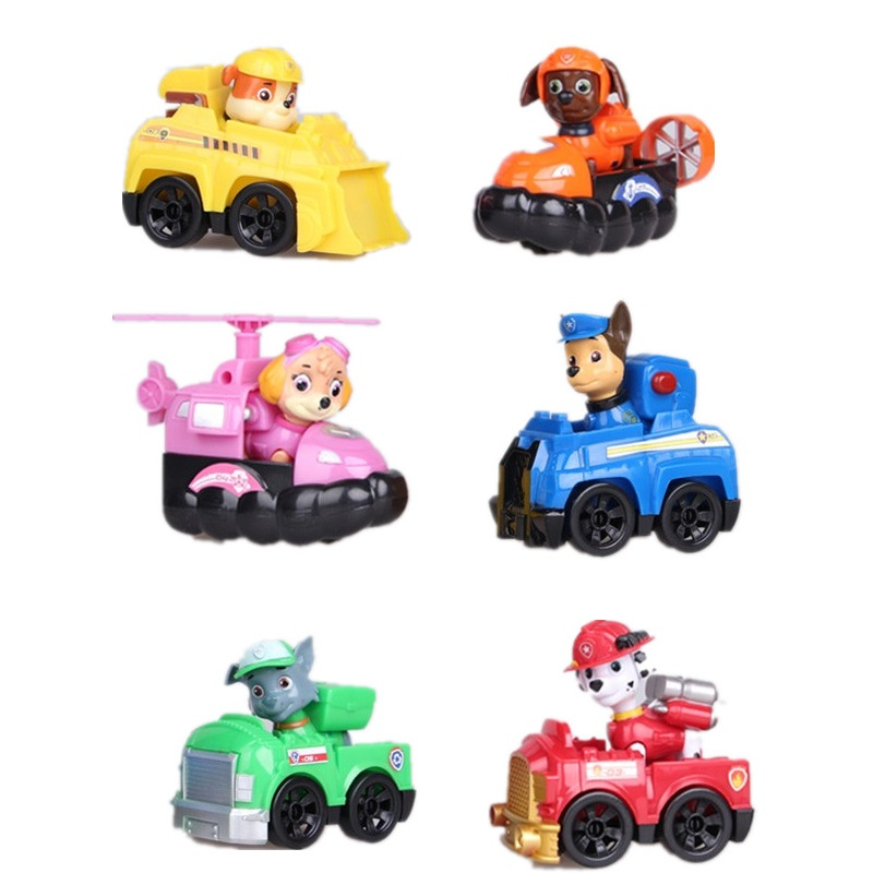 12 Pcs Puppy Patrol patrulla canina toy Action Figure Dogs Anime Toys Figurine Cars Plastic Toy Children Gifts baby kids toys<br><br>Aliexpress
