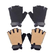 Buy 1 Pair Bicycle Half Finger Cycling Gloves Men Women Anti Slip Cycling Climbing Tactics Breathable Gloves Sport Bike Gloves for $2.20 in AliExpress store