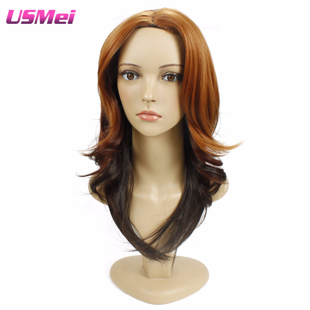 Cheap Wigs Synthetic for Black Women Long Brown Full Wigs Goldway Homestuck Cosplay Homestuck Wigs that Look Real Freeshipping<br><br>Aliexpress