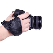 Universal Triangle Wrist Strap for DSLR SLR Camera Comfortable and Convenient Leather Wrist Strip