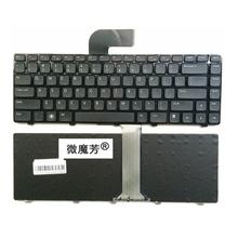 US Black New English Replace laptop keyboard For DELL 14RR-2518X V1550-336 N5050 N5040 N7520 V131-347 For VOSTRO 2520 V3350(China)