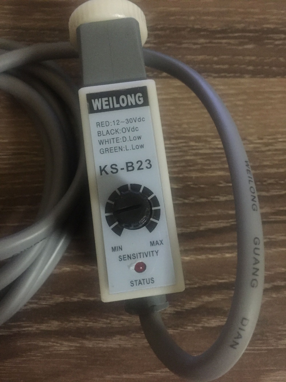 Genuine original new food packaging machinery WEILONG color correction electric eye KS-B23<br>