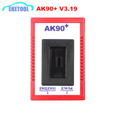 New Sale AK90+ Auto Key Programmer For BMW EWS Newest Version V3.19 AK90 Key Copier Machine Tool EWS2/EWS3/EWS4 Quality A+