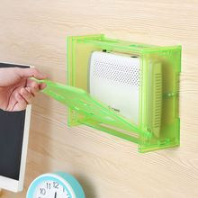 Free nail smile router New Creative Plastic DIY Cable  Storage Box Set Top Box Socket Router Box Organizer  storage rack