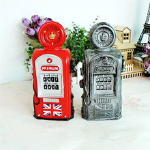 London Loyal Fuel Energy Equipment Oiler Money Box Saving Coin Bank Vintage Miniatures Home Decoration Collection Kids Gifts(China)