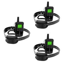 500M Remote Electronic Shock Dog Training Collar Rechargeable Waterproof Anti Bark Diving Collars Pet Training Aids