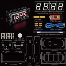 NEW Item!Keyestudio Smart Clock Kit for Arduino with FTDI +PDF