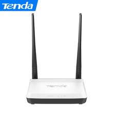 Tenda N300 300Mbps Home Wireless WiFi Router,Repeater,IP QoS,WPS Button,Wireless AP+Switch+Firewall integrated ,Easy Setup(China)