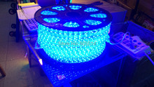 [Seven Neon]Free DHL express shipping 20meters 220V 3528 nature white 60leds/meter led smd strip light(China)