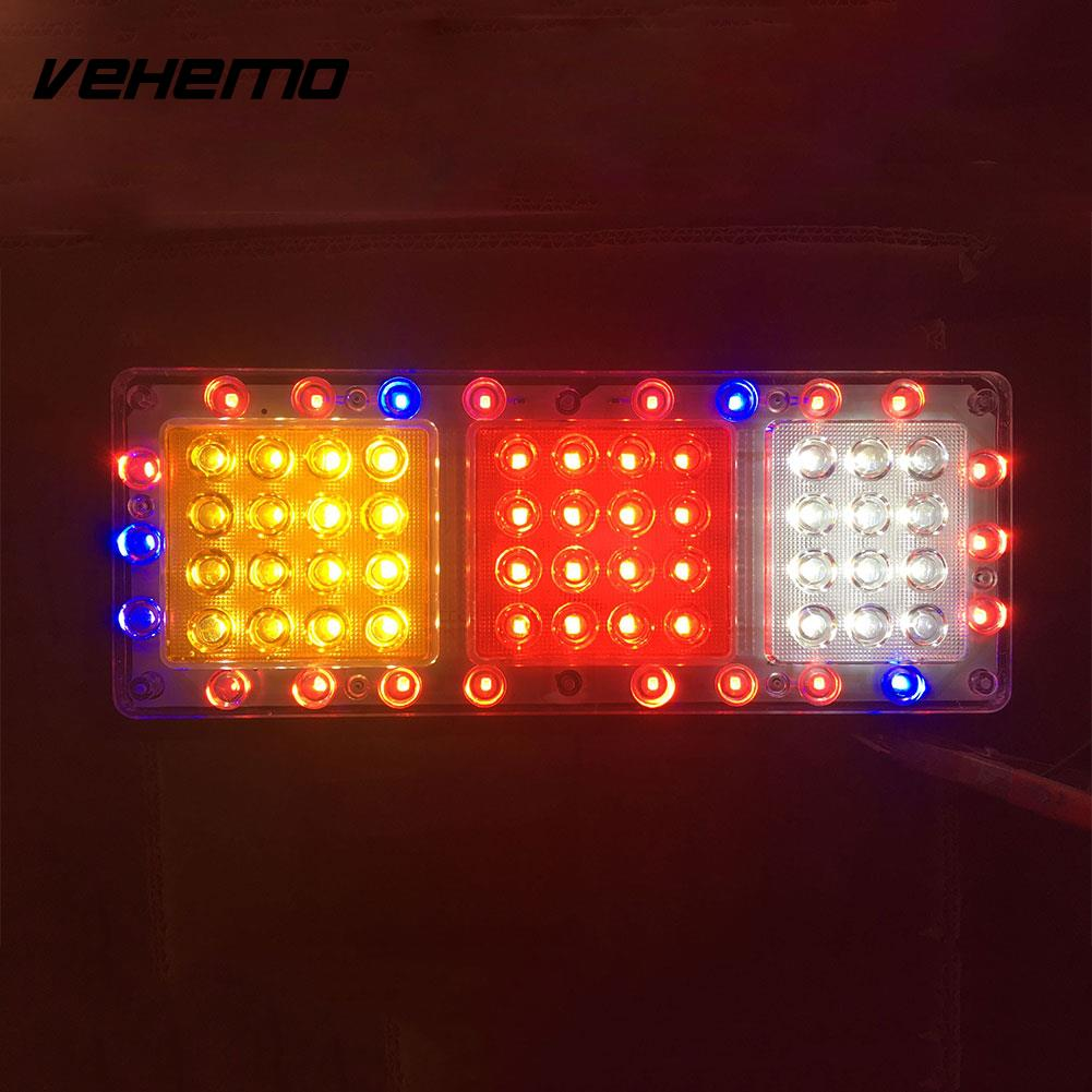 Vehemo LED Car Tail Light Fog Lamps Flashlight Indicator Lights Trailer Truck 18W<br>