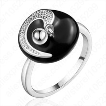 Hot-sale Vintage Elegant Oil Dripping Ring 925 Sterling Silver Ring For Women Wholesale Price Free Shipping(China)