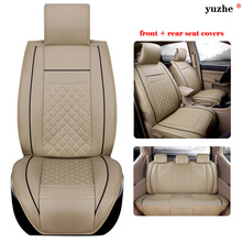 11 PCS/SET leather car seat cover For Maybach car accessories car-styling