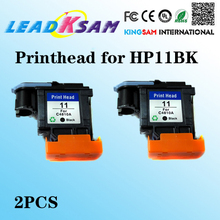 2x black printhead for HP 11 500 800 K8500 1200 2800 1700 1100/820/9110/9120/9130/K850 printhead