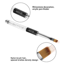 BQAN Nail Art Painting Pen Brush UV Gel Polish Gradient Color Nail Art Brush Rhinestone Crystal Acrylic Nail Drawing Pen Tools