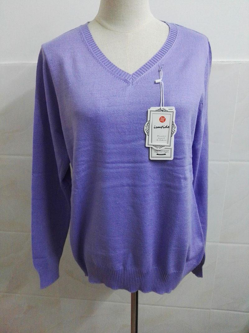 Cashmere Sweater V Neck Women Fashion Autumn Pullovers Knit Cashmere Sweater Women Slim Knit Coat Female Blouse Winter Knitwear 54