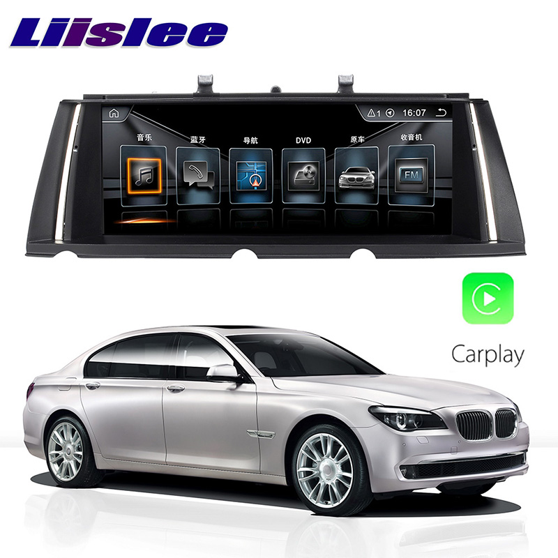 LiisLee Car Multimedia GPS Audio Hi-Fi Radio Stereo For BMW 7 Series F01 F02 F03 F04 Original CIC Style Navigation NAVI