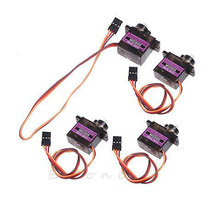4pcs MG90S Metal Gear Servo Micro Servo For Car Boat Plane Helicopter New(China)
