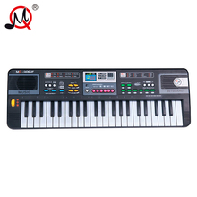 44keys musical toy multifunction musical instrument keyboard colorful button piano with usb toys microphone for girls boys gift
