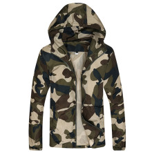 2017 New Autumn Men's Fashion Camouflage Jacket Men Tide Male Hooded Thin Camo Bomber Jackets Sunscreen Coat Jaqueta Masculina