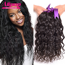 Indian Virgin Hair 8A Unprocessed Virgin Hair Natural Wave 4pcs Indian Curly Virgin Hair Wet and Wavy Human Hair Extensions Soft