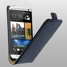 Luxury Genuine Real Leather Case Flip Cover Mobile Phone Accessories Bag Retro Vertical For HTC ONE M7 PS