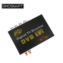 High Speed Car DVB-T2 Receiver Digital TV with dual tuners for South East Asia (Thailand Indonesia Singapore Colombia)(China)