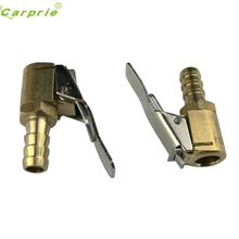 New Arrival 2PCS Inflator Valve Connector Brass Tire Valve Air Pump  8mm Auto Car Truck Tire or28