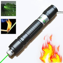High Power Green Laser Hunting Lasers Sight Rifle Scope Riflescope 532nm Powerful Laser Pointer (Batteries not included)