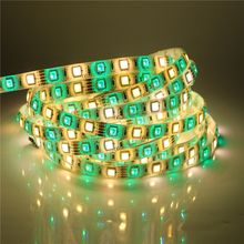 5M/Roll DC12V RGBW LED Strip 5050SMD 300LEDs High Brightness Flexible LED Tape Home KTV Bar Light  RGB + White / Warm white