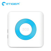Etiger 85dB siren comes with a strobe light Wireless Siren for Etiger Alarm System S4/S3B(China)