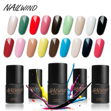 NAILWIND 7ML Pure Color Soak Off Gel Nail Polish 01-30 Gel UV For Nail Art UV LED Nail Gel Lak Top Gel Varnish Lacquer