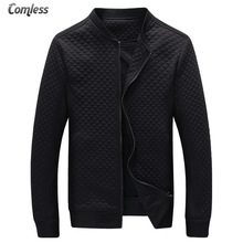 Hot Sale 2017 New Fashion Brand Jacket Men Clothes Baseball Collar Trend Slim Fit High-Quality Casual Mens Jackets And Coats 5XL