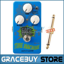 Biyang AD-10 BABY BOOM Time Machine Analog Delay Blue Finish MS Toggle Option Electric Guitar Effect Pedal Musical Instrument