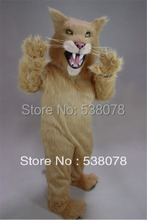 Long Hair Material Saber Tooth Mascot Costumes tiger Outfits Suits Party Carnival Advertising Stage Performance SW613