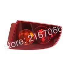 Tail Lights Right fits MAZDA 3 / AXELA 2003 2004 2005 2006 4Doors RED Rear Lamps Side Passenger Sedan Only(China)