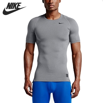 Original Nouvelle Arrivée 2017 NIKE COMME M NP TOP COMP SS Hommes de T-shirts à manches courtes de Sport