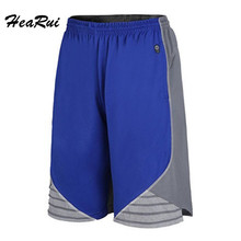2017 New Basketball Shorts Men Running Training Summer Beach Sport Gym Shorts For Men Breathable loose Plus Size XL-4XL