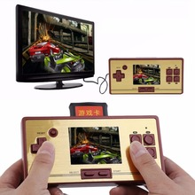 Red,Black Practical Classic Game Machine RS-20FC LCD 600 Games Inside Portable Handheld Video Game Player Console