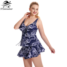 Top Quality Retro Floral Hot Summer Plus Size Sexy Swimwear Women Bikini Big Breast Lady Beach Bathing Suit 3 Pieces Swimsuit