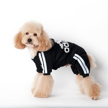 6 colors Brand name cheap Adidogs pet dog clothes for dogs warm jumpsuit for puppy hoodie clothing small pet products(China)
