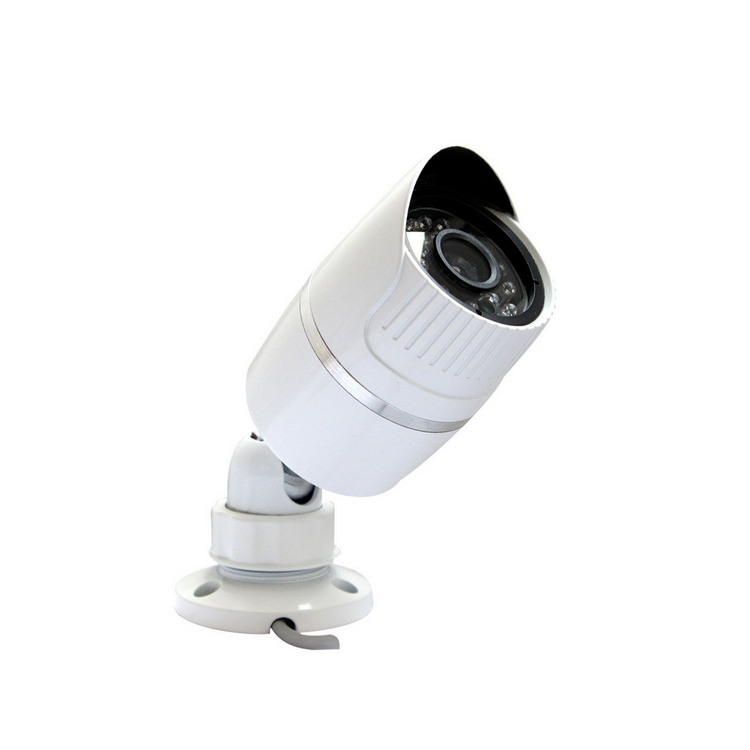 AHD 1pcs white cctv mental   1.3MP  CMOS IR-CUT OSD Indoor Outdoor CCTV Security  Camera for project construction  freeshipping<br><br>Aliexpress