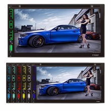 6.95 inch Universal  Android 4.4.4 Car DVD Radio Stereo Media Player 2 Din HD Digital Capacitive Touch Screen