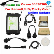 Online Update For Volvo Vocom 88890300 Interface Wifi USB Version Truck Diagnostic Scanner Tool For Renault/UD/Mack/Volvo Vcads(China)