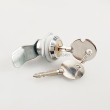 Cabinet Lock MS403 cross copper core Drawer  Cam Lock for Cabinet Door  Zinc Alloy lock body with 2 master keys