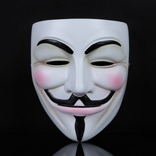 1pcs/lot V For Vendetta Mask Guy Fawkes High Grade Resin Full Face Masks For Collection(China)