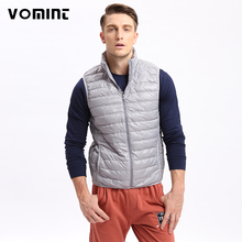 Vomint Mens Down Coat Vest Jacket Winter Light 80% Down Vest Short Slim Down Men Vest Jackets U6QI9025 (Asia size,See size)(China)